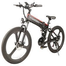<b>Samebike LO26</b> Folding Electric <b>Moped Bike</b> 350W Motor Max 35km ...