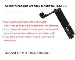 "<b>Original For</b> Apple iPhone 6 <b>4.7</b>"" Logic Board Motherboard Touch id ..."