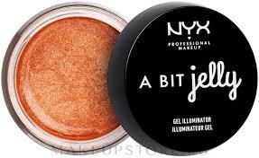 <b>Гель</b>-хайлайтер для лица - <b>NYX Professional Makeup</b> A Bit Jelly ...