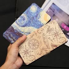 <b>QIJUN Painted Flip Wallet</b> Case For Asus Zenfone 3 ZE552KL Laser ...