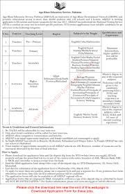 aga khan education service jobs 2017 nts aga khan education service jobs 2017 nts application form teachers lecturers academic
