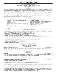 accounts payable receivable resume examples   engineering resumes    austin h    marine engineers resume   henderson  nevada