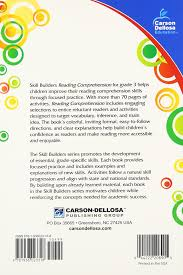 reading comprehension grade 3 skill builders carson dellosa reading comprehension grade 3 skill builders carson dellosa publishing 0044222208905 amazon com books