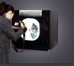 <b>70*70*70cm LED</b> Photo Studio Softbox <b>Light</b> Tent Soft Box ...