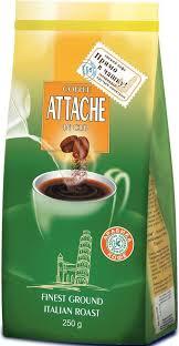 """<b>Attache</b> """"Итальянская обжарка"""" <b>кофе молотый</b> для заваривания в ..."""