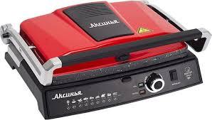 <b>Электрогриль Аксинья КС</b>-<b>5210</b>, красный, черный — купить в ...