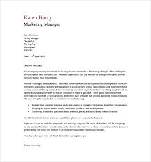 marketing manager general cover letter pdf free download marketing manager cover letters