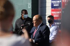 Man featured at Giuliani press conference is a convicted <b>sex</b> offender