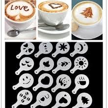 cappuccino stencil с бесплатной доставкой на AliExpress