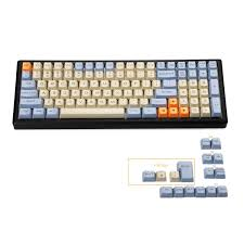 Only Keycap White YMDK <b>Mac</b> Layout OEM Profile 104 ANSI Laser ...