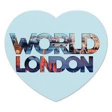 """Коврик для мышки (сердце) """"""""DIFFERENT WORLD"""": <b>London</b> ..."""