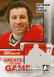 Tony Esposito (Greats of The Game). 89. In The Game Between The Pipes 2007- ... - 89