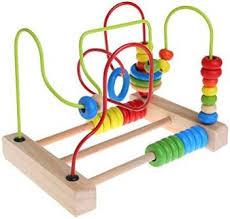 CHONE Circle <b>Bead Maze</b> - Wooden <b>Puzzle Maze</b> Toddler Kids ...
