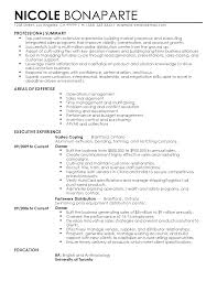 professional senior operations manager templates to showcase your resume templates senior operations manager