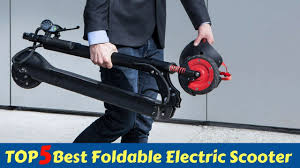TOP 5   Best <b>Foldable Electric Scooter</b> 2018-2019 - YouTube