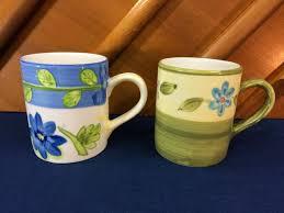 <b>Vintage</b> Royal Norfolk Heavy Porcelain <b>Coffee Mugs</b> Cups <b>Set</b> Of 2 ...