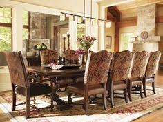 dining table that seats 10: fieldale lodge silverton rectangular dining table seats  lexington home brands