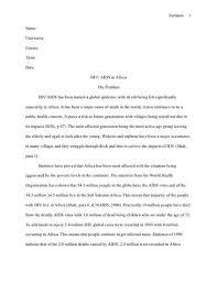 essay on hiv aids awareness   essay topicshiv aids essay college essays words studymode