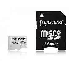 <b>Secure Digital</b> Card <b>Micro 64GB Transcend</b> SDHC 300S UHS-I U1 ...
