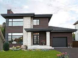 Contemporary House Plans   Modern Two Story Home Plan   H       Story Home Plan Photo  H    Contemporary House