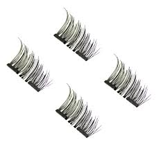 <b>3D</b> Reusable <b>Magnetic Eyelashes</b> – My Make Up Brush Set
