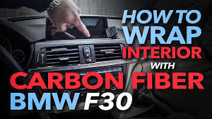 BMW F30 How to Remove, Wrap and Re-Install <b>Interior Trim</b> with ...