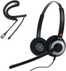 IPD IPH-165 Binaural NC, Corded Headset for Call ... - Amazon.com