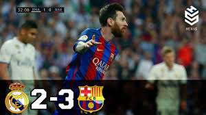 Real Madrid vs Barcelona 2-3 All Goals and Full Highlights English ...