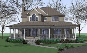 Victorian House Plans With Wrap Around Porches   EurHomedesign    Victorian House Plans With Wrap Around Porches Great Country Farmhouse With Wrap Around Porch Plan