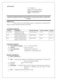 cse resume resume format for bachelor of computer science electronic engineer resume sample
