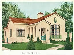 Spanish Revival Bungalow Spanish Bungalow House Plans  spanish