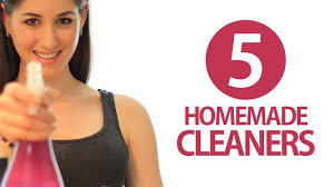 5 Homemade Cleaners! DIY Cleaning Products! Easy Ways to Save ...