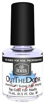 <b>Сушка</b>-<b>закрепитель</b> лака для ногтей Out The Door от <b>INM</b>, купить ...