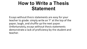 what is a thesis statement students have heard the term thesis  how to write a thesis statement essays out thesis statements are easy for your teacher to