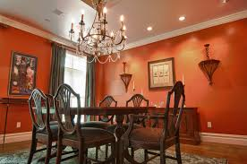 Orange Dining Room Chairs Dining Room Abstract Pattern Wallpaper Dining Room Designs With