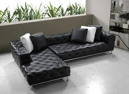 living room the latest chic button tufted leather sectional sofa for small patio living room with right side chaise lounge and stainless steel base metal chic living room leather