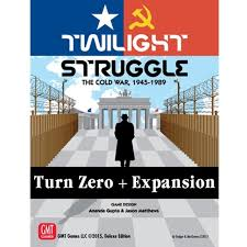 <b>Twilight</b> Struggle Turn Zero and Promo Packs, 2nd <b>Printing</b>
