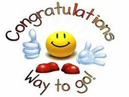 Image result for congratulations you did it