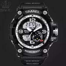 Jaya <b>SMAEL 1436</b> G-Shock Style Military watch for <b>men</b> Sports ...