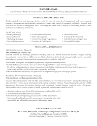 food and beverage manager resumes template food and beverage manager resumes