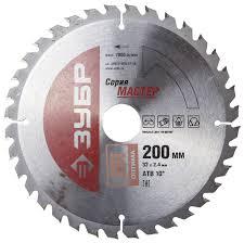 Купить <b>Пильный диск ЗУБР</b> Мастер 36912-200-32-36 <b>200х32</b> мм ...