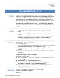 data analyst resume best data analyst resume samples data analyst resume samples