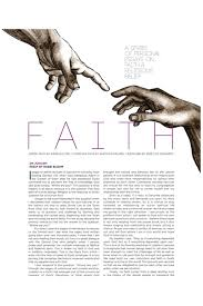 essay faith  nowservingco hilton head magazines ch cb faith a series of personal essays essay by rabbi bloom i