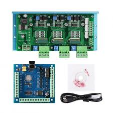 New SainSmart <b>CNC TB6600 3</b>-Axis Stepper Motor Driver Board <b>Kit</b> ...