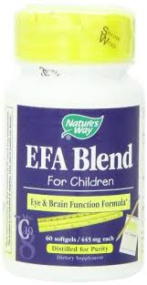 Natures Way <b>EFA Blend for Children</b> 445 mg 60 Softgels ** See this ...