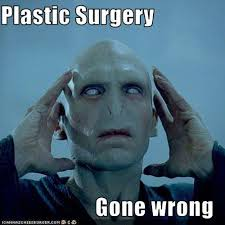 Plastic Surgery faces are weird on Superman, Voldemort, more | SMOSH via Relatably.com