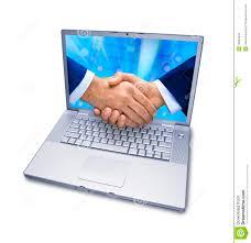 business computer services handshake business computer