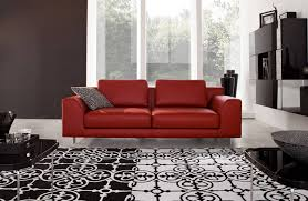 1000 images about decor diy inspiration redblackwhite living rooms on pinterest red sofa red black and joss and main black and red furniture