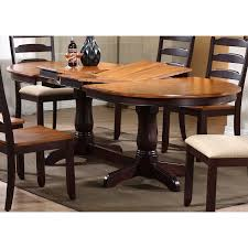 dining room set piece bh  gatsby  piece oval extending dining set ladder back chairs mocha icon