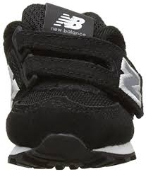 New Balance Unisex Kids' <b>574 Hook and</b> Loop High Visibility Low ...